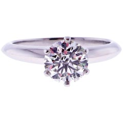 Tiffany & Co. 1.28 Carat Diamond Engagement Ring