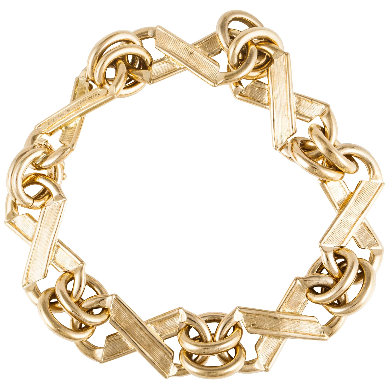 Tiffany & Co. Schlumberger 18K Gold Bracelet