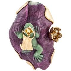 Dior 18 Karat Frog Ring