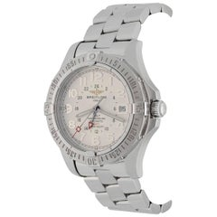 Breitling Stainless Steel Colt GMT Automatic Wristwatch