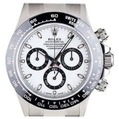 Rolex Stainless Steel Black Ceramic Cosmograph Daytona Automatic Wristwatch