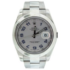 Rolex Stainless Steel Oyster Perpetual Datejust II Wristwatch
