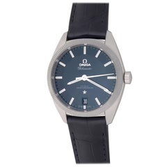 Omega Stainless Steel Globemaster Automatic Wristwatch