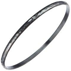 "Lika Behar ""Fusion"" Bangle Bracelet in Oxidized Sterling Silver"