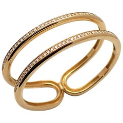 18 Karat Yellow Gold Antonini Cuff Bracelet
