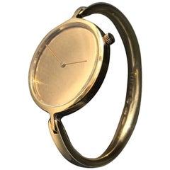 Georg Jensen by Torun Yellow Gold No. 1227 Wristwatch