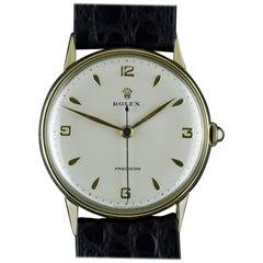 Rolex Yellow Gold Precision Wristwatch, circa 1957