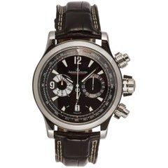 Jaeger-LeCoultre Stainless Master Compressor Automatic Chronograph Wristwatch