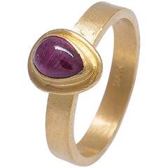 Yossi Harari Pink Tourmaline Ring