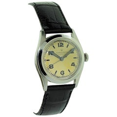 Rolex Steel Early Speedking with Original Dial from 1941 or 1942