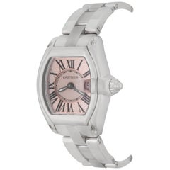 Cartier Ladies Stainless Steel Roadster Quartz Wristwatch Ref W62017V3 In Stock