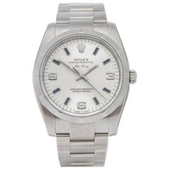 Rolex Stainless Steel Air King Automatic Wristwatch, Ref 114210