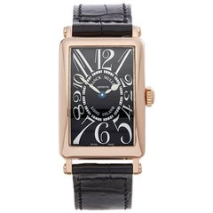 Franck Muller Ladies Rose Gold Long Island Quartz Wristwatch Ref 902QZ, 2000