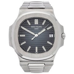 Patek Philippe Stainless Steel Nautilus Automatic Wristwatch Ref 57111A-010