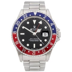 Rolex Stainless Steel GMT-Master Pepsi Automatic Wristwatch Ref 16700