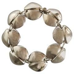 Georg Jensen Sterling Silver Bracelet No. 270 by Henning Koppel, Bracelet