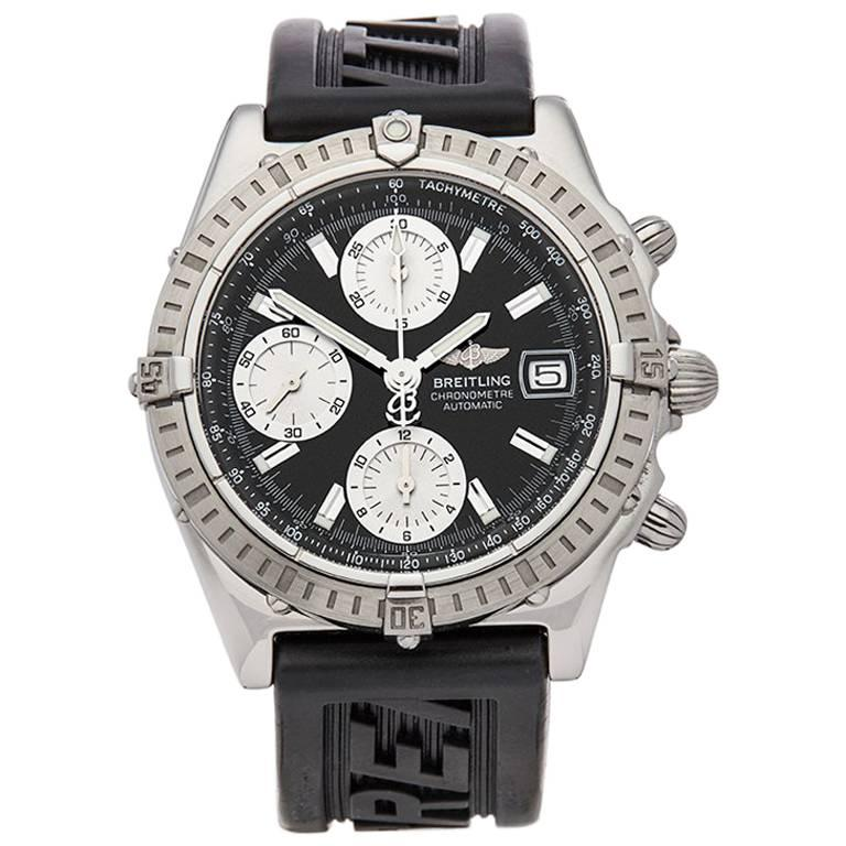 Breitling Stainless Steel Bentley Automatic Wristwatch Ref: Breitling Stainless Steel Chronomat Chronograph Automatic