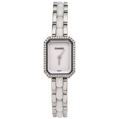 Chanel Ladies Stainless Steel Premiere Quartz Wristwatch Ref H2132, 2010