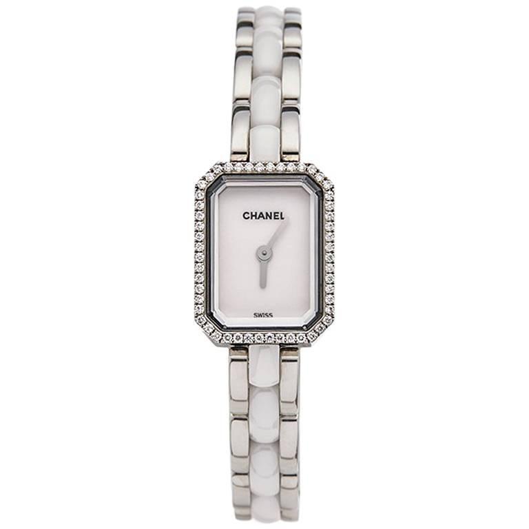 Chanel Ladies Stainless Steel Premiere Quartz Wristwatch Ref H2132, 2010