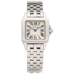 Cartier Stainless Steel Santos Demoiselle Quartz Wristwatch Ref 2698, 2006