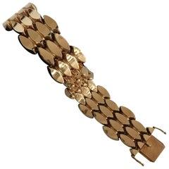 Georg Jensen 18 Karat Gold Bracelet No. 1126