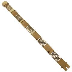 Georg Jensen 18 Karat Gold Bracelet No. 314B