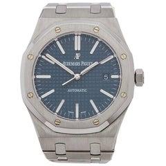 Audemars Piguet Stainless Steel Royal Oak Boutique Automatic Wristwatch, 2015