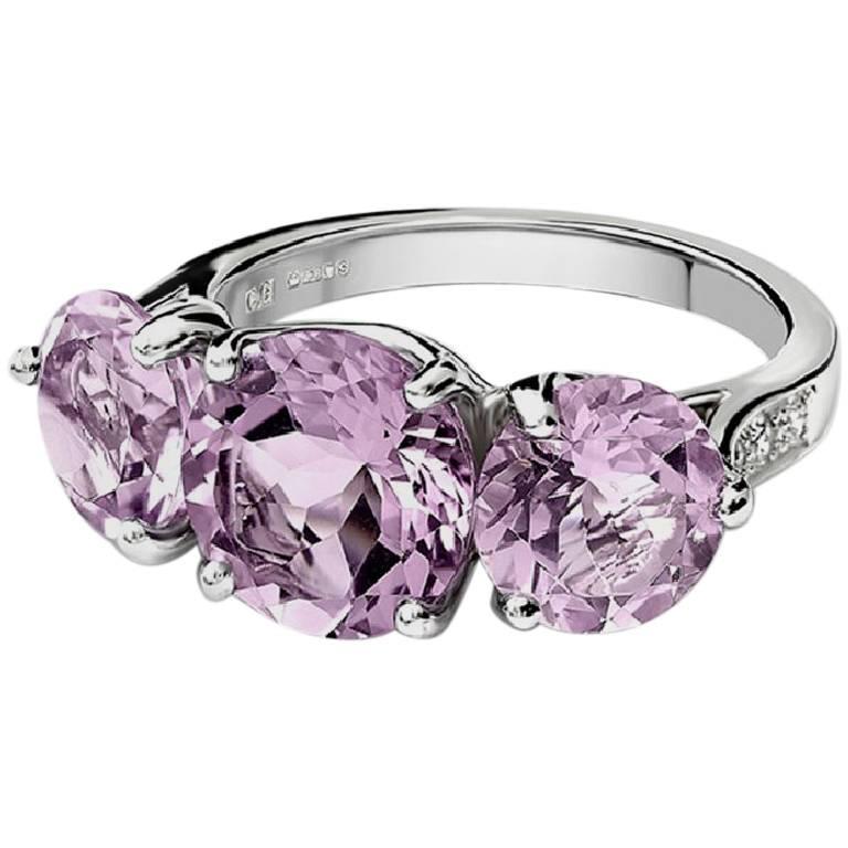 Cassandra Goad Mikaela Riviere Amethyst Ring