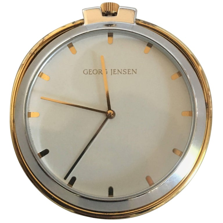 Georg Jensen Sterling Silver Pocket Watch or Table Watch No. 355