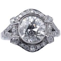 Beautiful Art Deco Diamond Ring