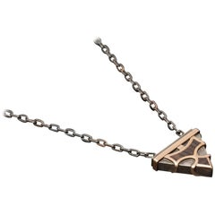 Gold and Ebony Tree Cevsen Necklace