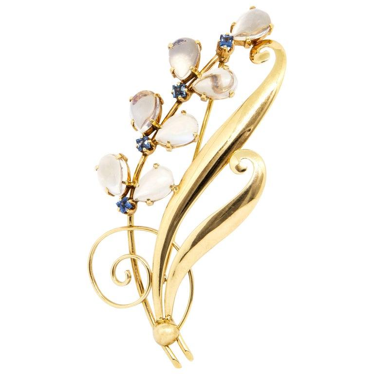 Beautiful 14 Karat Gold Tiffany & Co. Brooch