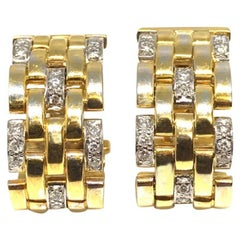 Cartier Maillon Panthere Clip-On Earrings