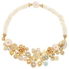 Matina Amanita Flowers Serenade Necklace