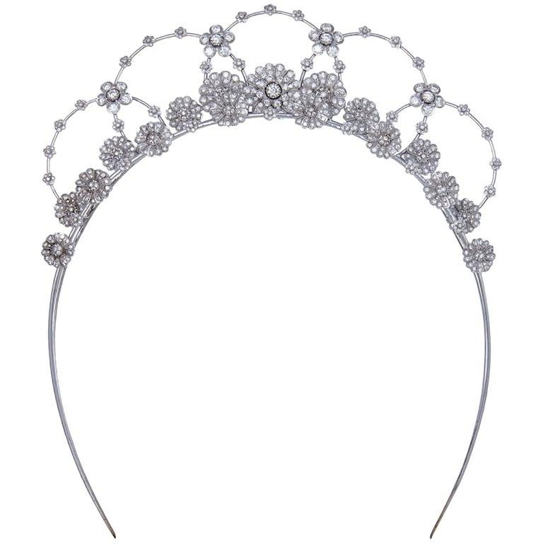 Matina Amanita Diamond Daisy Princess Tiara