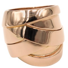 Maldamore Rose Gold Ring by Mattioli