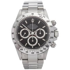 Rolex Stainless Steel Daytona Zenith Chronograph Inverted 6 Automatic Wristwatch