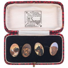 Pair of Early 20th Century Gold Novelty Cufflinks