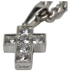Cartier Diamond Cross Necklace