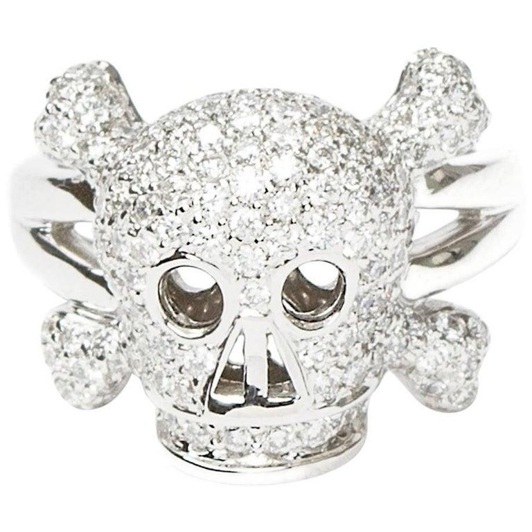 Dior Skull Ring