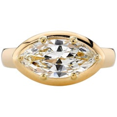 1.80 Carat Bold Marquise Ring