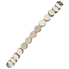 John Hardy Dot Batu Dragon Sterling Silver and 18 Karat Gold Bracelet