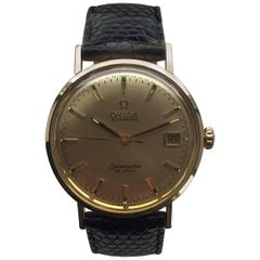 Omega Yellow Gold Seamaster De Ville Automatic Wristwatch, 1970s