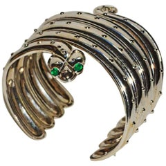 Erte Serpent Cuff