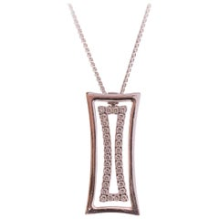 2014 Chimento Diamond and 18K Gold Pendant Necklace