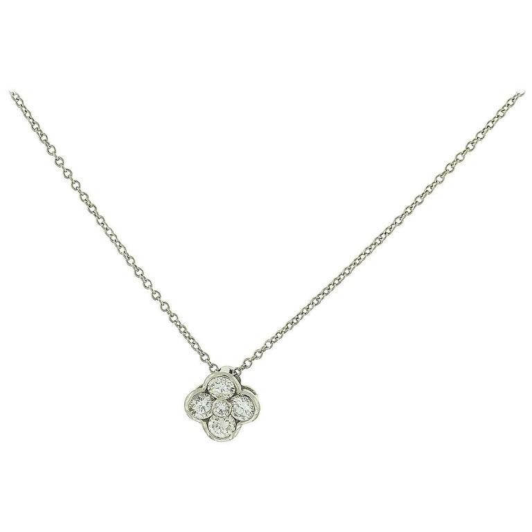 Gumuchian Diamond Flower Necklace