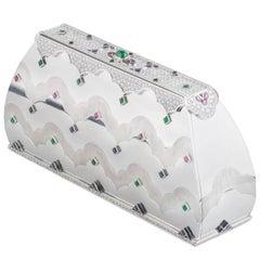 Mauboussin Diamond and Multi-Gemstone Clutch Bag