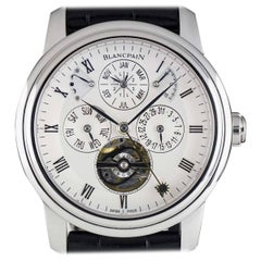Blancpain Platinum Equation of Time Perpetual Calendar Villeret Automatic Watch