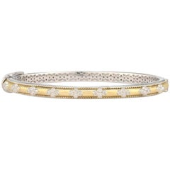Jude Frances Mixed Metal Delicate Quad Cuff