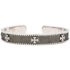 Jude Frances Narrow Beaded Maltese Cuff